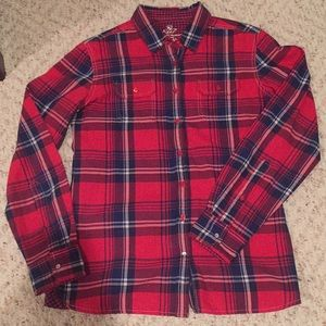 Kuhl ladies plaid button down